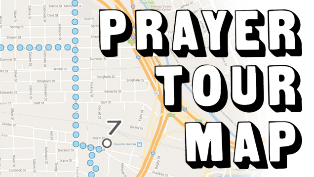prayer tour header