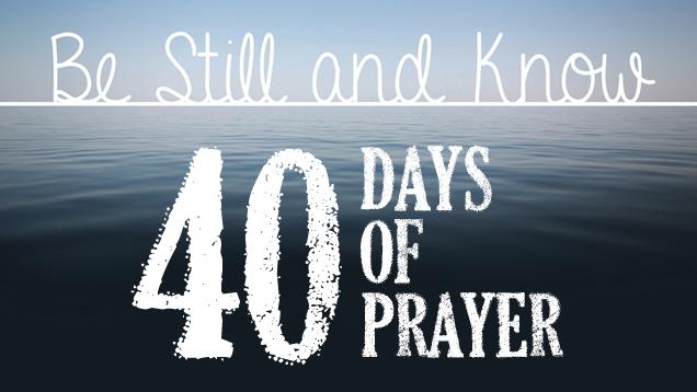 be still 40 days